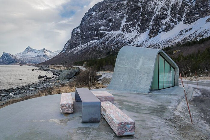 Norway Might Design the Most Beautiful Public Washroom in the World