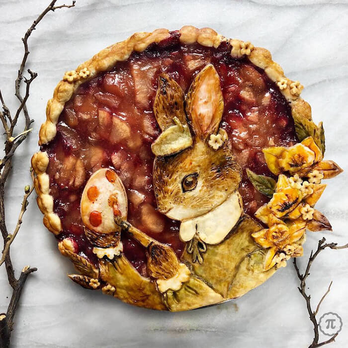Incredible Pie Curst Art by Jessica Leigh Clark-Bojin