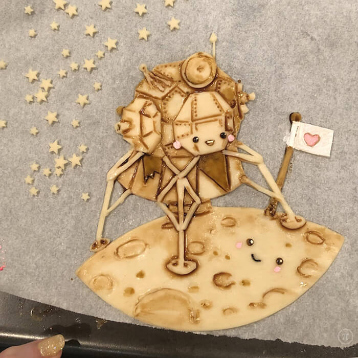 Incredible Pie Crust Art by Jessica Leigh Clark-Bojin