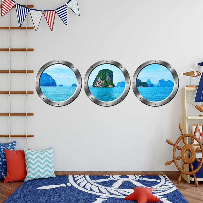 Porthole Windows in Modern Home Designs