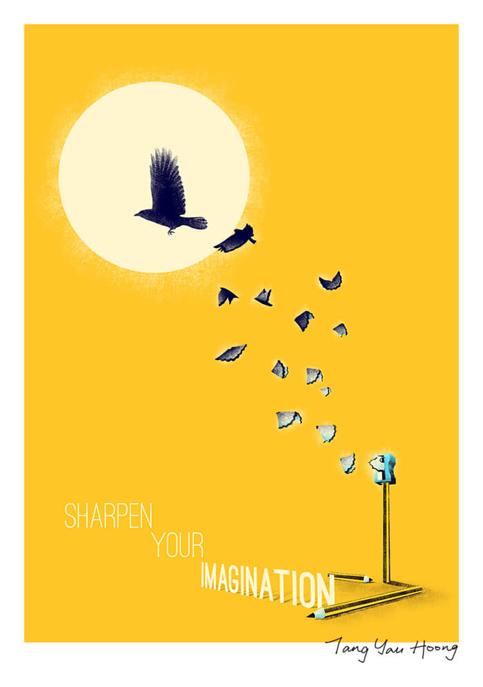 Illustrated Inspirational Quotes by Tang Yau Hoong