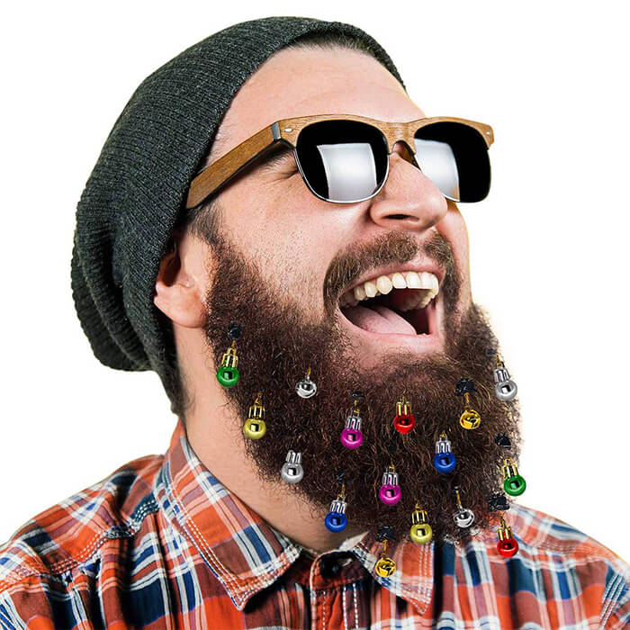 Unusual Accessories for Beard, Let Your Beard be the Soul of The Party