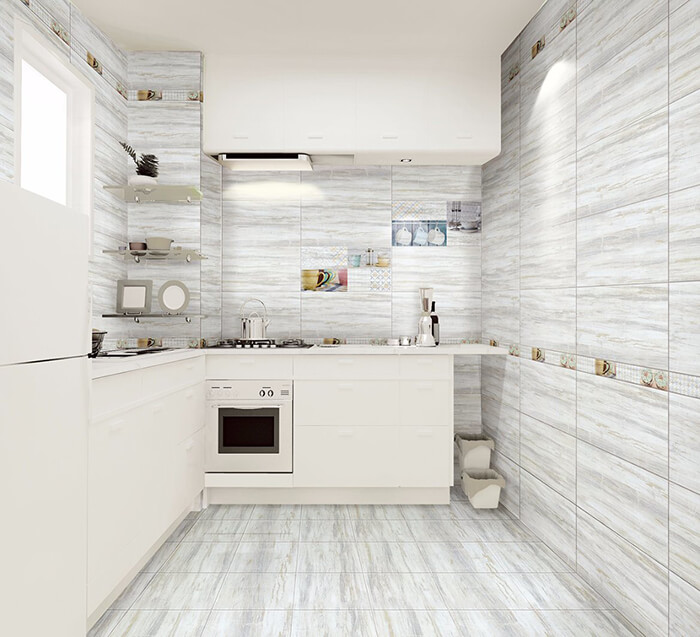 Tile Floors in the Kitchen or Bathroom
