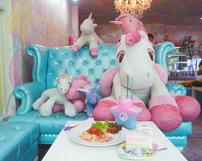 Walk-in Only Unicorn Cafe in Bangkok, Thailand