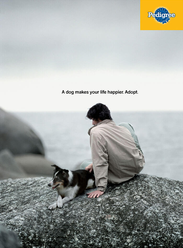 Creative Ad Designs Convince People Dog Can Help Them Change Their Lives