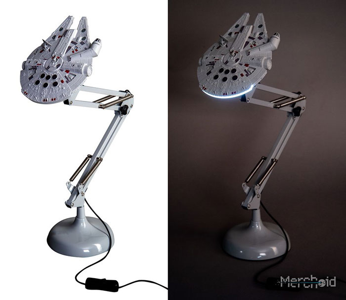 Two Awesome Star War Inspired Desk Lamps