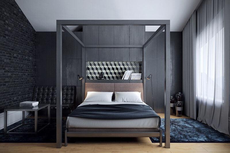 41 sophisticated black themed bedroom ideas  design swan